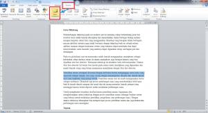 cara menyembunyikan komentar di microsoft word