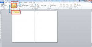cara membuat salah satu halaman menjadi landscape di microsoft word