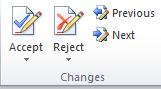 fungsi changes pada tab reviews