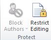fungsi protect di microsoft word
