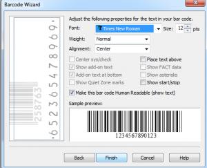 cara agar kode batang di word bisa di scan